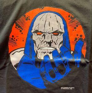 Darkseid Wants You T-Shirt L Large Graphitti DC Comics Black New