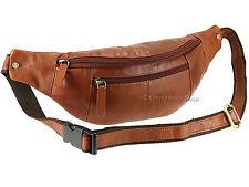 Visconti Unisex Cuero Riñonera Viajes, Paquete de la cintura, marrón-Bolsa de documento de cadera