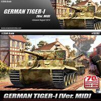 1/35 GERMAN TIGER-I VER.MID ACADEMY #13287