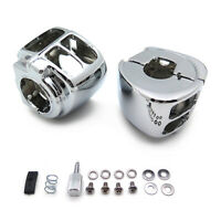 Switch Housings Cover For 2009 Later Harley Dyna Sportsters Softail V-Rod Chrome