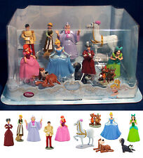 New Disney CINDERELLA Deluxe Figurine Playset - 11 Figures GUS Jaq CAKE TOPPERS
