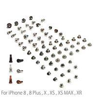 Complete Full All Screw for iPhone 8 Plus X XS Max XR & Bottom Pentalobe Screw