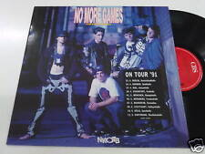 NEW KIDS ON THE BLOCK NO MORE GAMES - LP