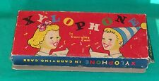 1950 DIAMOND XYLOPHONE CHILDREN MUSIC INSTRUMENT TOY GAME PLAY MUSICAL COLOR VTG