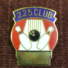 Bowling pin new 225 club blue and red