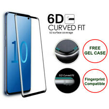 Samsung Galaxy S10 S10e Plus 5G Tempered Glass Screen Protector Film 6D Curved