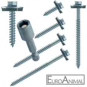 Schrauben für Trapezblech V2A 19mm - 260mm E16 Fassadenbauschrauben Edelstahl VA