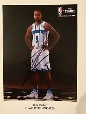 Tony Parker Signed Autograph 8x10 Photo Charlotte Hornets