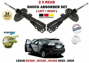 FOR LEXUS RX300 RX330 RX350 2003-2008 REAR LEFT + RIGHT SHOCK ABSORBER SHOCKERS