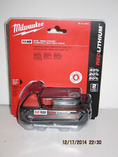 MILWAUKEE GENUINE 48-11-1815,M18 RED Lithium-Ion Battery-NEW SEALED PAK F/SHIP!!