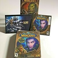 World of Warcraft PC Game Box Set with Manual from Blizzard Entertainment