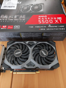 MSI Mech Radeon 5500 XT 8GB