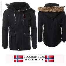 Geographical Norway Chamonix Herren Winter Jacke Parka mit Fell XXL NEU