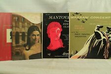 lot lp record Zinka Milanov at the Met Warsaw Concerto Nutcracker Mantovani