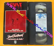 VHS film SHOCK TREATMENT Trattamento da sballo 1991 CULT MOVIE CBS (F87) no dvd