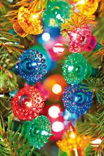 Noma 40 Pickwicks, Traditional Filament Multi-Colour Vintage Xmas Fairy Lights