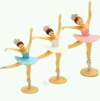 Ballerina Cake Smash Topper Decoration Ballet Dancer Birthday Cupcake Icing UK