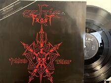 Celtic Frost – Morbid Tales LP 1984 Noise – N 0017 Germany - 1st Press VG/VG