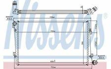 NISSENS Radiateur moteur pour AUDI A3 VOLKSWAGEN CADDY GOLF SEAT LEON 65292