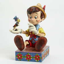 Enesco Jim Shore Disney Traditions Pinocchio 75th Anniversary NIB # 4043647