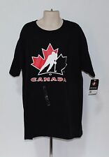 Hockey Canada Level Wear Kids Youth Large Black T Shirt-NWT