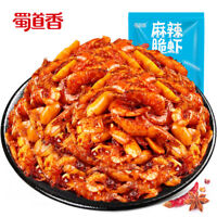Snacks Leisure Chinese Food Spicy Crispy Shrimp零食华人麻辣休闲食品 蜀道香麻辣脆虾小虾米100g/袋 Ths01