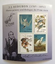 Bloc 18 neuf** XVIe J. J. Audubon, émis en 1995