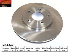Disc Brake Rotor fits 1985-1995 Plymouth Sundance Acclaim Voyager  BEST BRAKES U