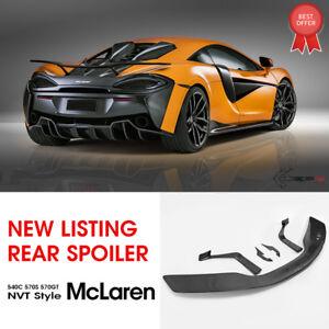 Carbon Fiber Nov Style Rear Spoiler Wing Lip - Fit For McLaren 540 570s 570GT