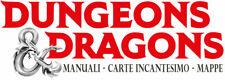 DUNGEONS & DRAGONS: 5ª EDIZ. - MANUALI - CARTE INCANTESIMO - MAPPE in ITALIANO