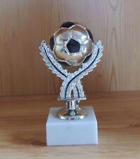 1 Fußball Figur Neutral Ball 16cm mit Gravur #18 (Jugend Pokal )