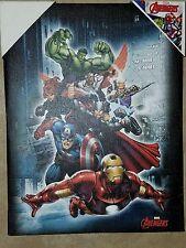 Marvel avengers 8 x5 canvas