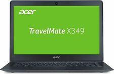 """Acer TravelMate X349 14"""" Laptop Intel i3-3400U 2.30GHz 4GB Ram 128GB SSD W7P"""