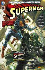 SUPERMAN 21-Série 2012-Panini Allemagne-Produit Neuf -