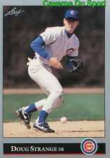 476   DOUG STRANGE    CHICAGO CUBS  BASEBALL CARD LEAF 1992