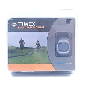 Timex Heart Rate Monitor Watch With Chest Sensor Strap Model T5G941 M1 New