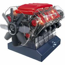 STEMNEX V8 Combustion OHC Engine Motor Working Visible Clear Sound Model Kit