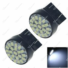 2X 7443 7440 22 SMD 1206 LED Brake Light Tail Bulb Clearance Lamp Auto Z20047