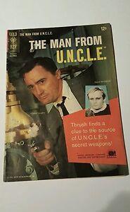 THE MAN FROM U.N.C.L.E.  #  3  GOLD KEY