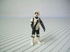 "RARE figurine vintage de.."" STAR WARS ""...BIKER SCOUT"