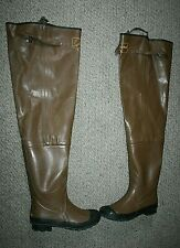 Alaskan Fishing Rubber Hip Wader Boots Insulated Steel Shank Size 11