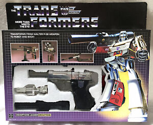 G1 1984 MEGATRON BOXED • 100% COMPLETE • GENERATION ONE TRANSFORMERS
