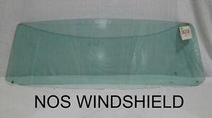 1954 Nash Rambler Windshield Glass NOS Coupe Convertible Sedan PPG Green OBO