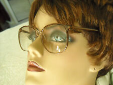 VINTAGE LENSCRAFTERS -'KIMBERLY ROSE FADE', PINK CHAMPAGNE PLASTIC FRAMES (ONLY)