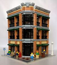 LEGO BARNES AND NOBLE - STARBUCKS CUSTOM MODULAR LEGO BUILDING + Minifigures