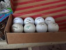 Titleist Golf Balls Lot Of 8 Assorted numbers 1 , 2 , 3 , 4 and 8
