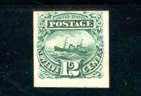 USAstamps Unused FVF US 1869 Pictorial Issue Proof On Card Scott 117