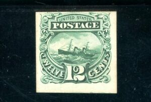 USAstamps Unused FVF US 1869 Pictorial Issue Proof On Card Scott 117