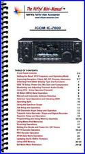 NIFTY MM-IC7600 IC-7600 Nifty! Quick Reference Guide