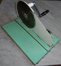 brot / wurst schneide maschine brotschneidemaschine alt 60 / 70er jahre design